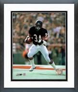 Chicago Bears Walter Payton Running with ball Framed Photo