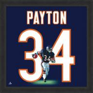 Chicago Bears Walter Payton Uniframe Framed Jersey Photo