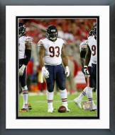 Chicago Bears Will Sutton 2014 Action Framed Photo