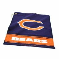 Chicago Bears Woven Golf Towel
