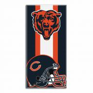 Chicago Bears Zone Read Beach Towel