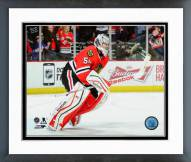 Chicago Blackhawks Corey Crawford 2014-15 Action Framed Photo