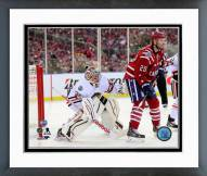 Chicago Blackhawks Corey Crawford 2015 NHL Winter Classic Action Framed Photo