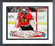 Chicago Blackhawks Corey Crawford Game 3 2015 Stanley Cup Finals Framed Photo