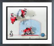Chicago Blackhawks Corey Crawford Game 4 2015 Stanley Cup Finals Framed Photo