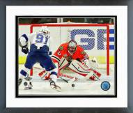 Chicago Blackhawks Corey Crawford Game 6 2015 Stanley Cup Finals Framed Photo