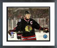 Chicago Blackhawks Jonathan Toews 2014 NHL Stadium Series Action Framed Photo