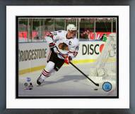 Chicago Blackhawks Jonathan Toews 2015 NHL Winter Classic Action Framed Photo