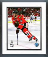 Chicago Blackhawks Jonathan Toews Game 4 2015 Stanley Cup Finals Framed Photo