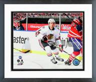 Chicago Blackhawks Niklas Hjalmarsson 2015 NHL Winter Classic Action Framed Photo