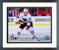 Chicago Blackhawks Patrick Kane 2015 NHL Winter Classic Action Framed Photo