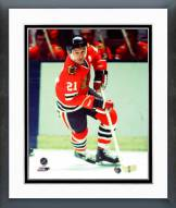 Chicago Blackhawks Stan Mikita Action Framed Photo