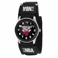 Chicago Bulls Black Rookie Kids Watch