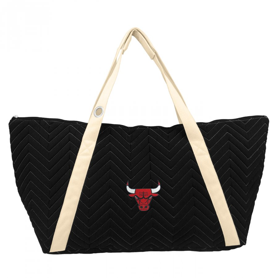 Chicago Bulls Chevron Stitch Weekender Bag
