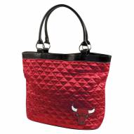Chicago Bulls Quilted Tote Bag