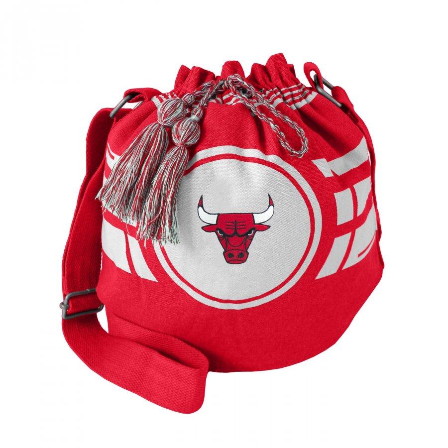 Chicago Bulls Ripple Drawstring Bucket Bag