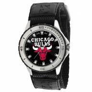 Chicago Bulls Veteran Velcro Mens Watch