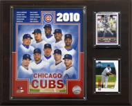 "Chicago Cubs 12"" x 15"" 2010 Team Plaque"