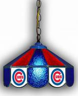 "Chicago Cubs 14"" Glass Pub Lamp"