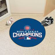Chicago Cubs 2016 World Series Baseball Rug