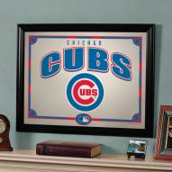 "Chicago Cubs 23"" x 18"" Mirror"