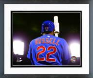 Chicago Cubs Addison Russell 2015 Action Framed Photo
