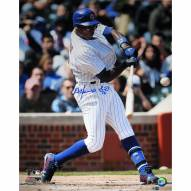 """Chicago Cubs Alfonso Soriano Swing Signed 16"""" x 20"""" Photo"""