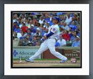 Chicago Cubs Anthony Rizzo 2015 Action Framed Photo