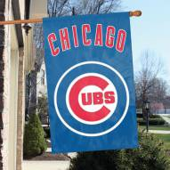 Chicago Cubs Appliqué 2-Sided Banner Flag