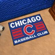 Chicago Cubs Baseball Club Starter Rug