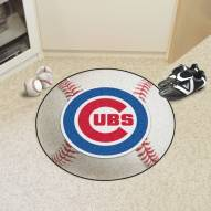 Chicago Cubs Baseball Rug