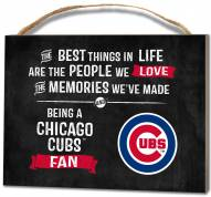 Chicago Cubs Best Things Small Plaque