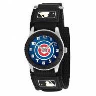 Chicago Cubs Black Rookie Kids Watch