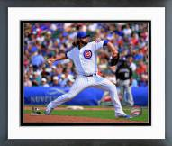 Chicago Cubs Brian Schlitter 2014 Action Framed Photo