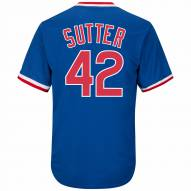 Chicago Cubs Bruce Sutter Cooperstown Royal Replica Baseball Jersey