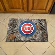Chicago Cubs Camo Scraper Door Mat