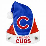 Chicago Cubs Colorblock Santa Hat
