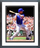 Chicago Cubs Darwin Barney 2014 Action Framed Photo