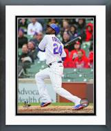 Chicago Cubs Dexter Fowler 2015 Action Framed Photo