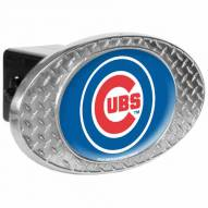 Chicago Cubs Metal Diamond Plate Trailer Hitch Cover