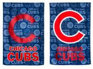 Chicago Cubs Double Sided Glitter Flag