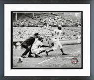 Chicago Cubs Ernie Banks 500th Career Home Run 1970 Framed Photo
