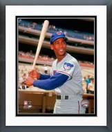 Chicago Cubs Ernie Banks Posed Framed Photo