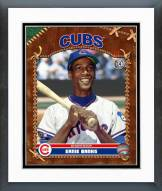 Chicago Cubs Ernie Banks Studio Plus Framed Photo