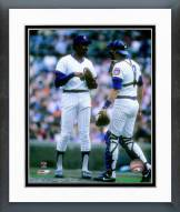Chicago Cubs Ferguson Jenkins 1982 Action Framed Photo