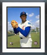 Chicago Cubs Ferguson Jenkins Ball in glove Framed Photo