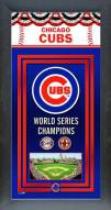Chicago Cubs Framed Championship Print