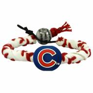 Chicago Cubs Frozen Rope Baseball Bracelet