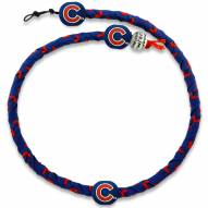 Chicago Cubs Frozen Rope Color Baseball Necklace