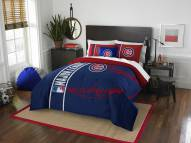 Chicago Cubs Full Comforter & Sham Set